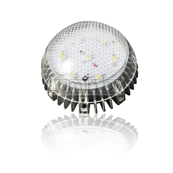Светодиодный светильник LP-R-15W (220V, 15W, холодный, ЖКХ, IP65)