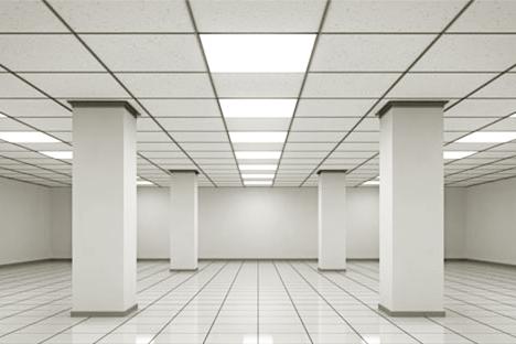 офисные светильники потолочные светодиодные армстронг квадратные плитки LED