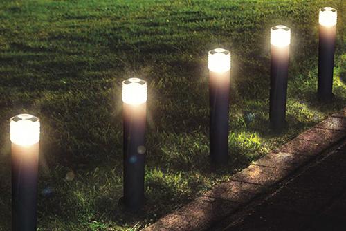 LED садово-парковые уличные диодные столбики освещения территории