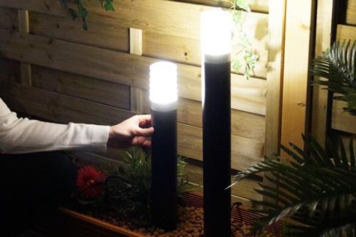наружные светодиодные светильники LED для улицы и освещения клумб дачи