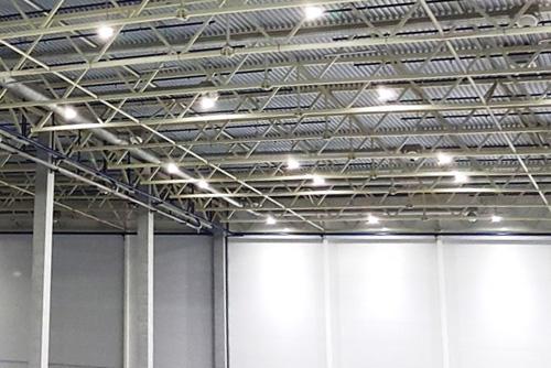 светодиодные светильники для склада с высокими потолками