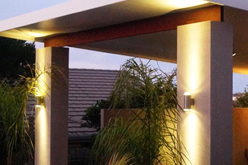 Декоративная подсветка фасадов светодиодными светильниками