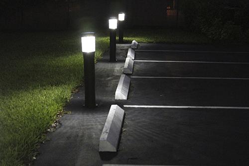 светильники столбики для ландшафтного освещения