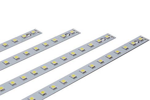 led линейка диодная планка алюминиевая 12 и 220 купить низкая цена минск