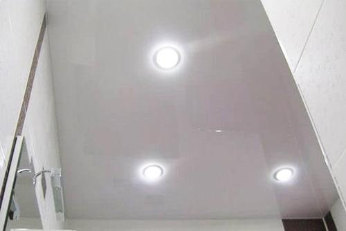 LED светильник натяжной потолок