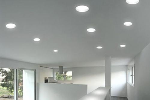 Светодиодные встроенные светильники в потолок