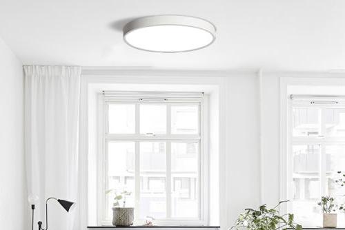 Накладные LED светильники в интерьере