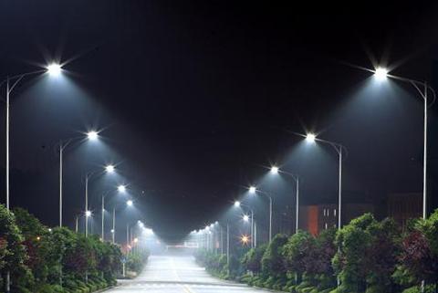 Консольный уличный led светодиодный светильник на столб