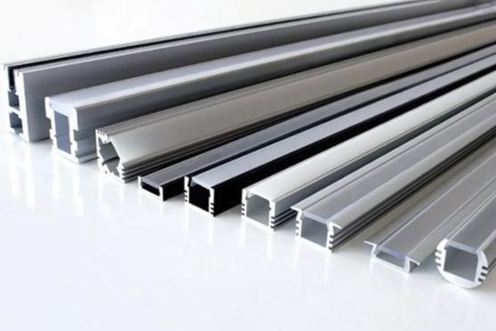 алюминиевые профиля для светодиодной подсветки врезные и накладные для светодиодной ленты