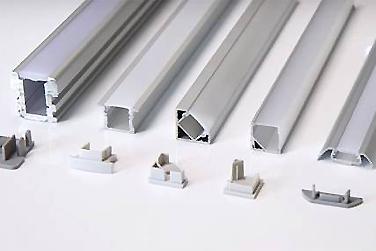 заглушки для профиля led крепления комплектующие профиля минск
