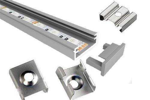 крепление алюминиевый профиль светодиодной ленты крепеж алюминиевого профиля