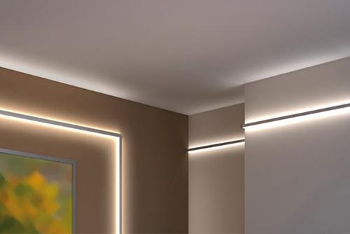 Светодиодная лента 5050 дизайн интерьера холодный белый или тёплый белый