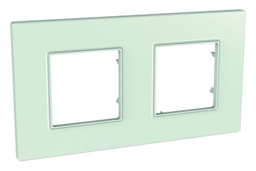 рамка schneider стекло шнакйдер уника стеклянная рамка для розеток выключателей unica