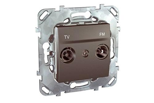 tv розетка schneider electric телевизионная розетка шнайдер цена купить недорого