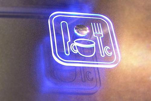 табличка светодиодная вывеска реклама led панель стеклянная купить