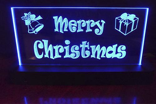 светодиодная вывеска с новым годом рождеством led украшения к новому году купить