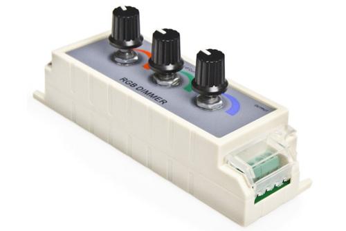 диммер пульт led rgb трехканальный управление светодиодами