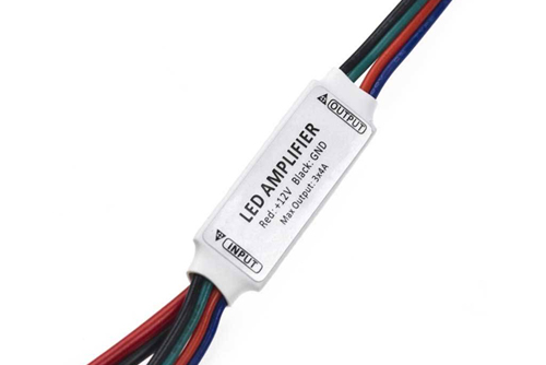 компактный усилитель мини для светодиодной ленты купить амплифаер