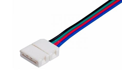 гибкий коннектор для светодиодной ленты соединитель