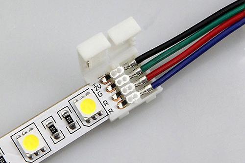 коннектор led соединитель светодиодных лент купить в минске гибкий коннектор как соединить светодиодную ленту