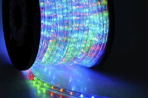 led дюралайт катушка ip65 уличный шнур цветной светодиодный