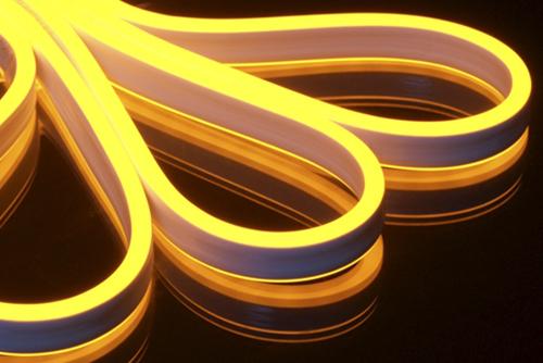 гибкий неон круглый флекс светодиодный led flex neon в минске