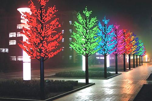 led дерево декоративное сакура клен светодиодные на деревья