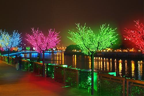 светодиодное дерево ip65 LED сакура цена светодиодные светильники дерево