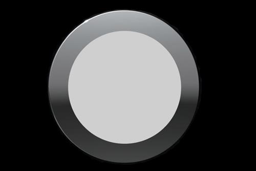 накладной корпус светодиодного светильника глянцевый хром на магнитах купить минск