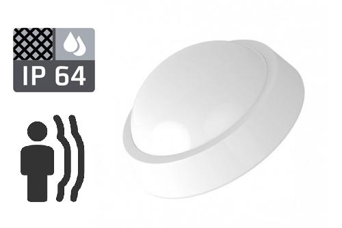 led светильник светодиодный с датчиками пылевлагозащитный движения освещения