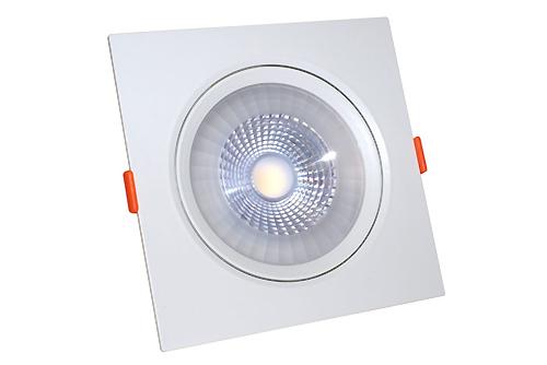 квадрат светильник встраиваемый поворотный квадратный led акцентный диодный купить минск