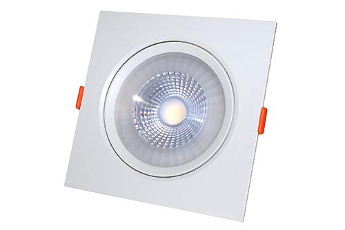 квадратный светодиодный светильник встраиваемый поворотный направленного света купить минск