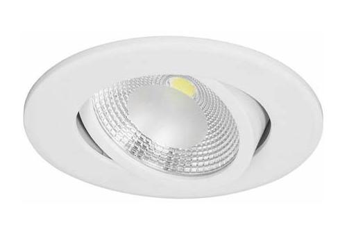 LED встраиваемый поворотный направленный круг 7W 4000K IP40