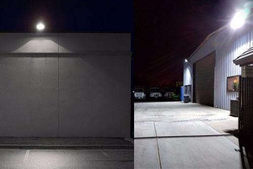 прожектор светодиодный уличный настенный влагозащищенный