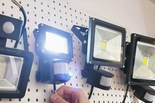 прожектор диодный с датчиком сенсор движения ip65 цена минск