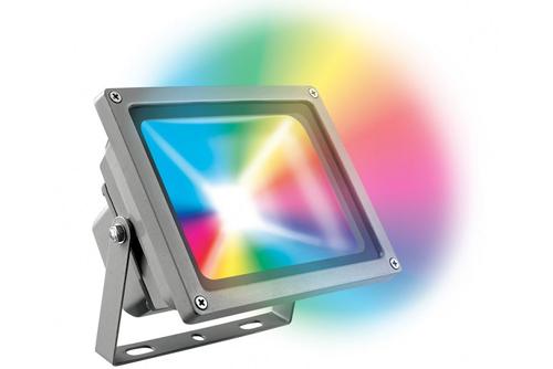 RGB LED прожектор диодный мультицветный с пультом управления минск