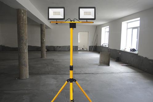 прожектор светодиодный на штативе переносной купить в минске