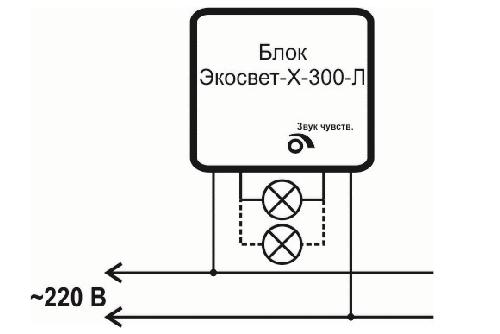 свет включающийся от хлопка ноотехника блок экосвет Х 200 300 купить в минске датчик хлопка