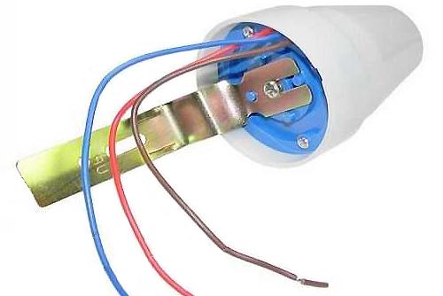 датчик ночного освещения день ночь уличный фотореле в квартире сенсор света светодиодный
