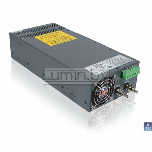 Блок питания для светодиодных лент HTS-600F-24