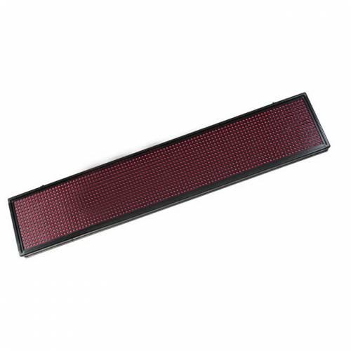 Светодиодный дисплей (бегущая строка), красного цвета , IP33, 50W (95х12х5 см) Артикул: 22103
