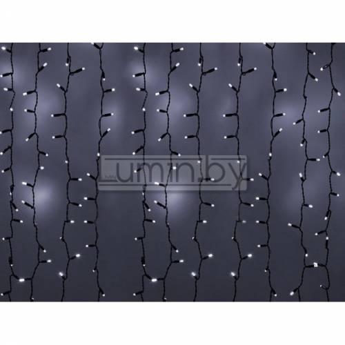 Светодиодная гирлянда Дождь 1,5х1м, 96 LED, 220V (на прозрачном проводе) Артикул: 75293