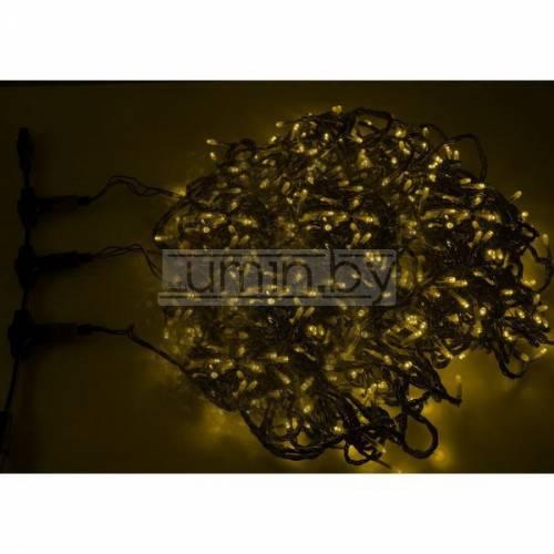 Светодиодная уличная гирлянда Клип-лайт 3х20м, 399 LED, 24V Артикул: 75524