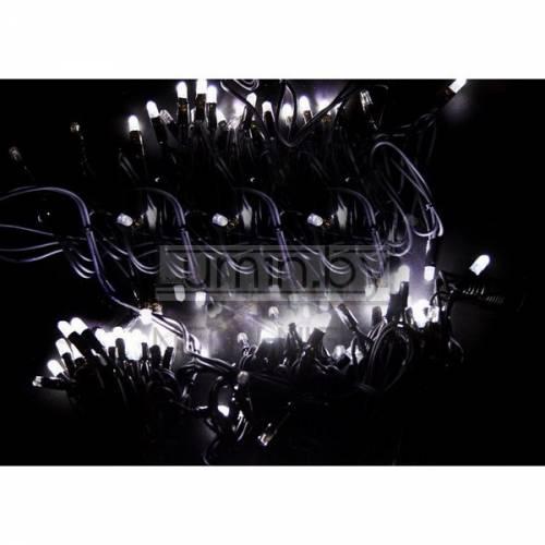 Светодиодная уличная гирлянда с эффектом мерцания 20м, 200 LED, 220V Артикул: 75516