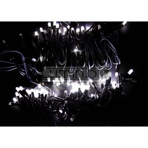 Светодиодная уличная гирлянда с эффектом мерцания 20м, 200 LED, 220V Артикул: 75518