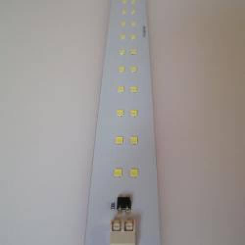 Светодиодная линейка РТ 2хТ60L 12W-280мм