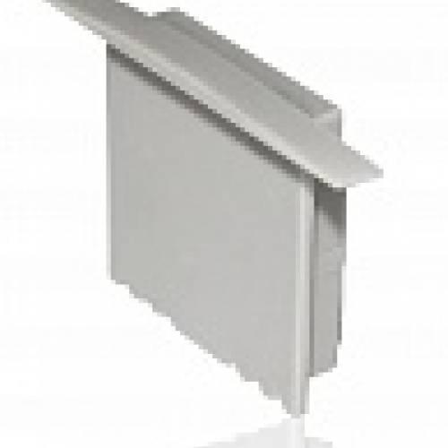 Заглушка глухая для алюминиевого профиля ALP-22
