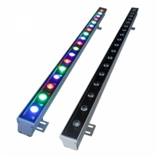 Линейный прожектор Wallwasher 12W RGB- 220V - IP65 (93008)