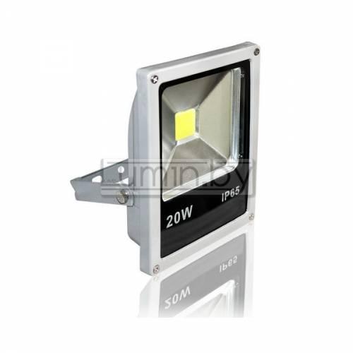 Светодиодный прожектор 20W Слим, IP65