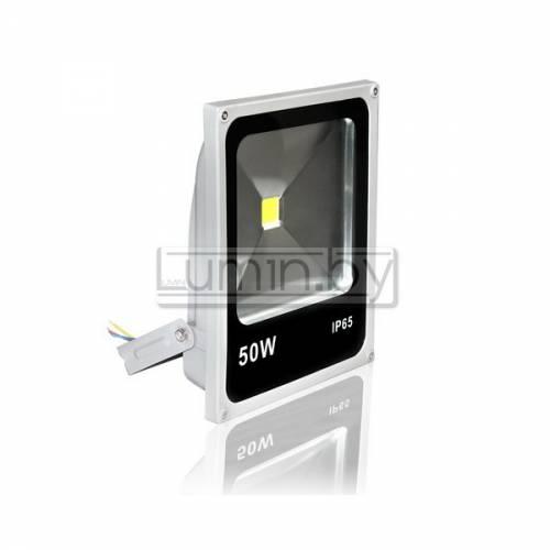 Светодиодный прожектор 50W Слим, IP65